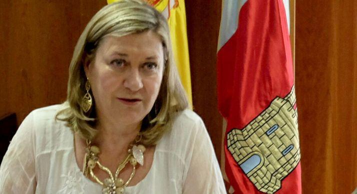 Pilar del Olmo, consejera de Hacienda.