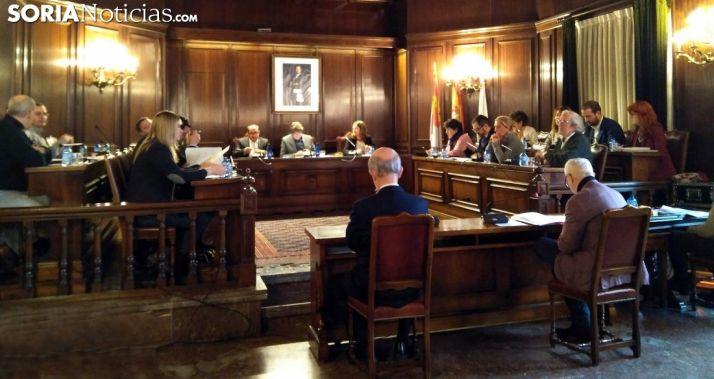 Imagen de la sesión plenaria este jueves. /SN