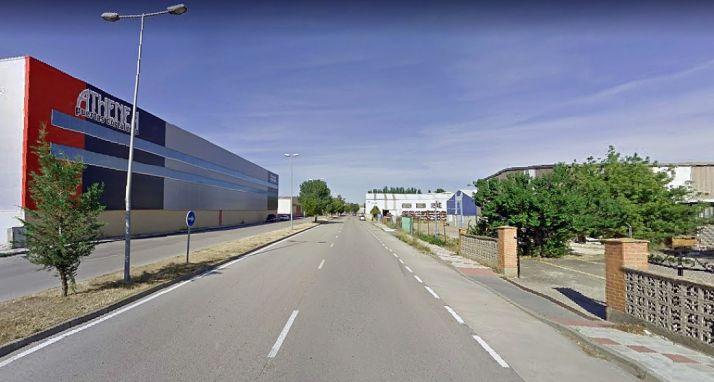 Una imagen del polígono industrial de Almazán. /GM