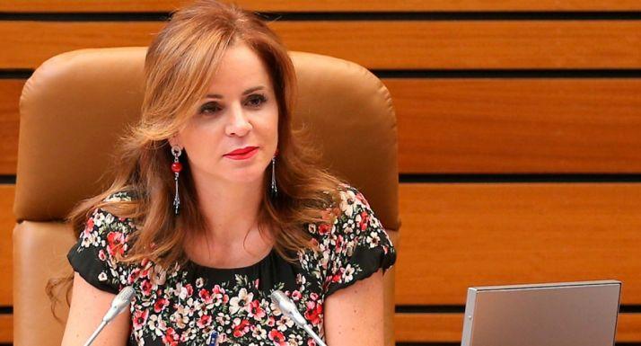 Silvia Clemente, presidenta de las Cortes de Castilla y León.