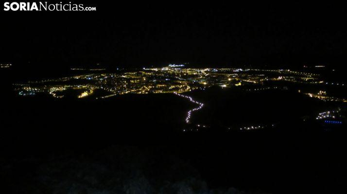 Imagen de archivo sobre la noche soriana en la capital.