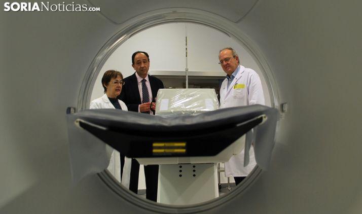 El nuevo TAC evitará el traslado de pacientes urgentes a Burgos