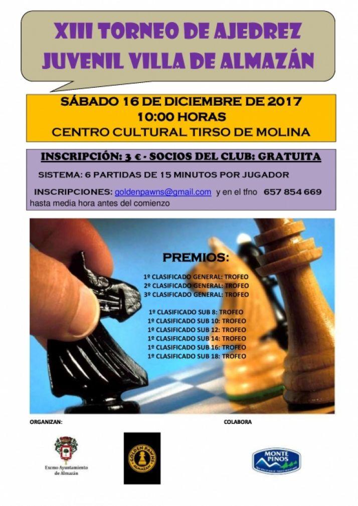 Torneo de Ajedrez Villa de Almazán.