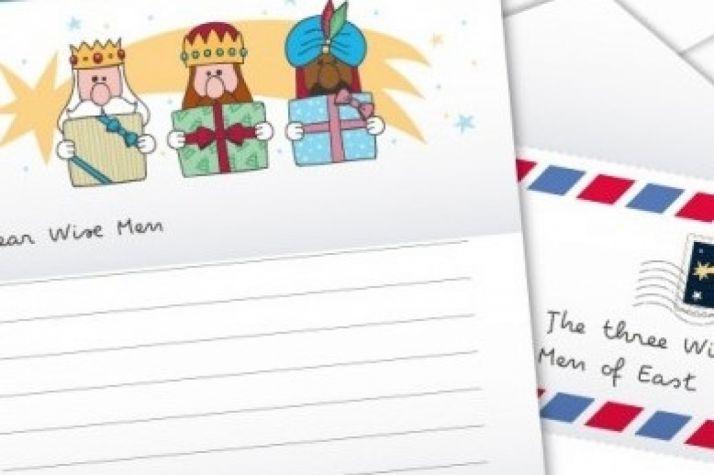 Carta a los Reyes Magos.