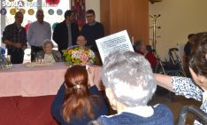 Un momento del homenaje a la centenaria. /SN