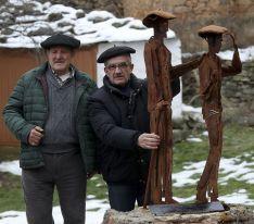 GALERÍA. Valdegeña inaugura su 'homenaje' a la boina