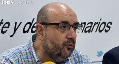 Miguel Borra, en una visita a Soria. /SN