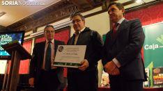 Carlos de Pablo, junto a Anselmo García (izda.) y Carlos Martínez Izquierdo. /SN
