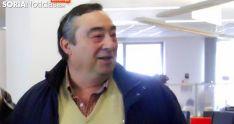 Carmelo Gómez el pasado lunes en la Delegación Territorial de la Junta en Soria. /SN