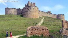 Una imagen del castillo medieval de Berlanga de Duero. /SN