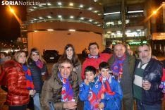 Aficionados rojillos en Madrid. SN