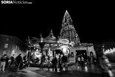 Navidad en la capital soriana. /Sara Roncal