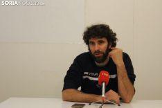 Manuel Sevillano, en una rueda de prensa
