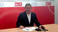 Javier Antón, este lunes en rueda de prensa./SN