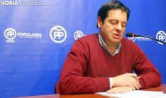 Javier Martín, este miércoles en rueda de prensa. /SN