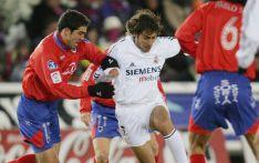 Imagen de archivo en un choque entre el Numancia y el Real Madrid en la temporada 2004-05.