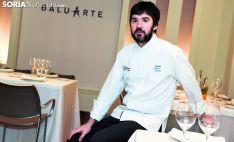 Óscar García en su restaurante. /SN