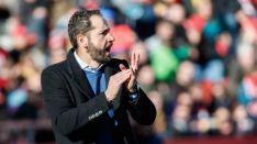 Pablo Machín, entrenador soriano del Girona FC. LaLiga