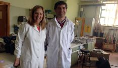 Mercedes Sánchez y Juan Manuel Antolín, investigadores de la UVa.