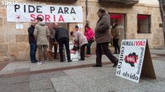 ¡Soria Ya! recoge las peticiones de los sorianos.