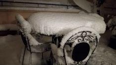 La nieve en la capital. Carlos Aza