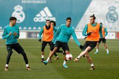 Último entrenamiento blanco antes de venir a Soria. Real Madrid