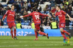 Gol de Guillermo en Madrid. LFP
