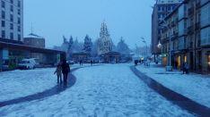 La nieve en Soria. Alejandro HG.