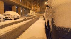La nieve en la capital. Pedro Calavia
