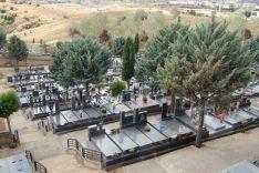 Imágenes del interior del Cementerio Municipal de Soria.