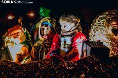 La cabalgata de los Reyes de Soria al detalle. Carmen de Vicente