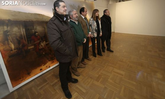 Santamaría, Terés, López, Sancho y De la Casa. /SN