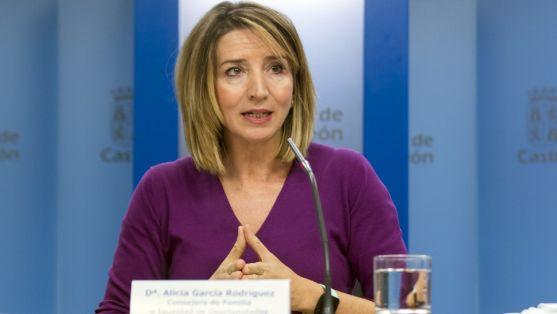 La consejera de Familia e Igualdad, Alicia García, este viernes. /Jta.