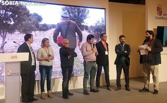 Acto central de la Diputación en Madrid este jueves. /SN
