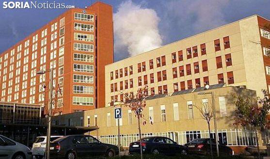 Una imagen del hospital palentino. /SN
