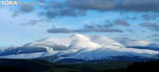 Imagen invernal del Moncayo. /SN