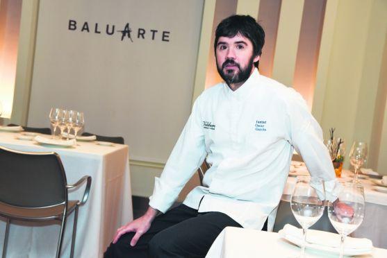 El soriano Óscar García, uno de los cocineros presente.