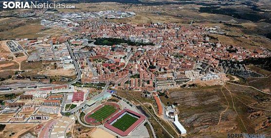 Vista aérea de la capital. /SN