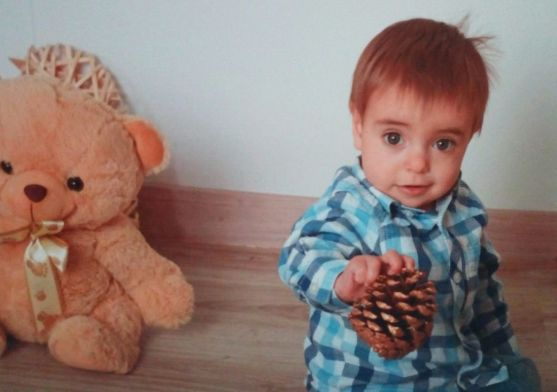 Enzo Terrazas Aranda cumple 1 año.