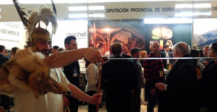 Una imagen de la presentación de Soria en Madrid Fusión. /M-Audiovisuales