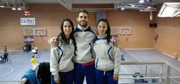 Ana Sanz, Víctor Ortega y Natalia Sanz.