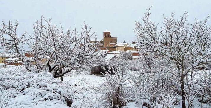 Una imagen de la localidad de Berzosa este fin de semana.