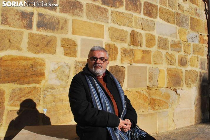 César Ibáñez, Profesor maño. Soria Noticias.