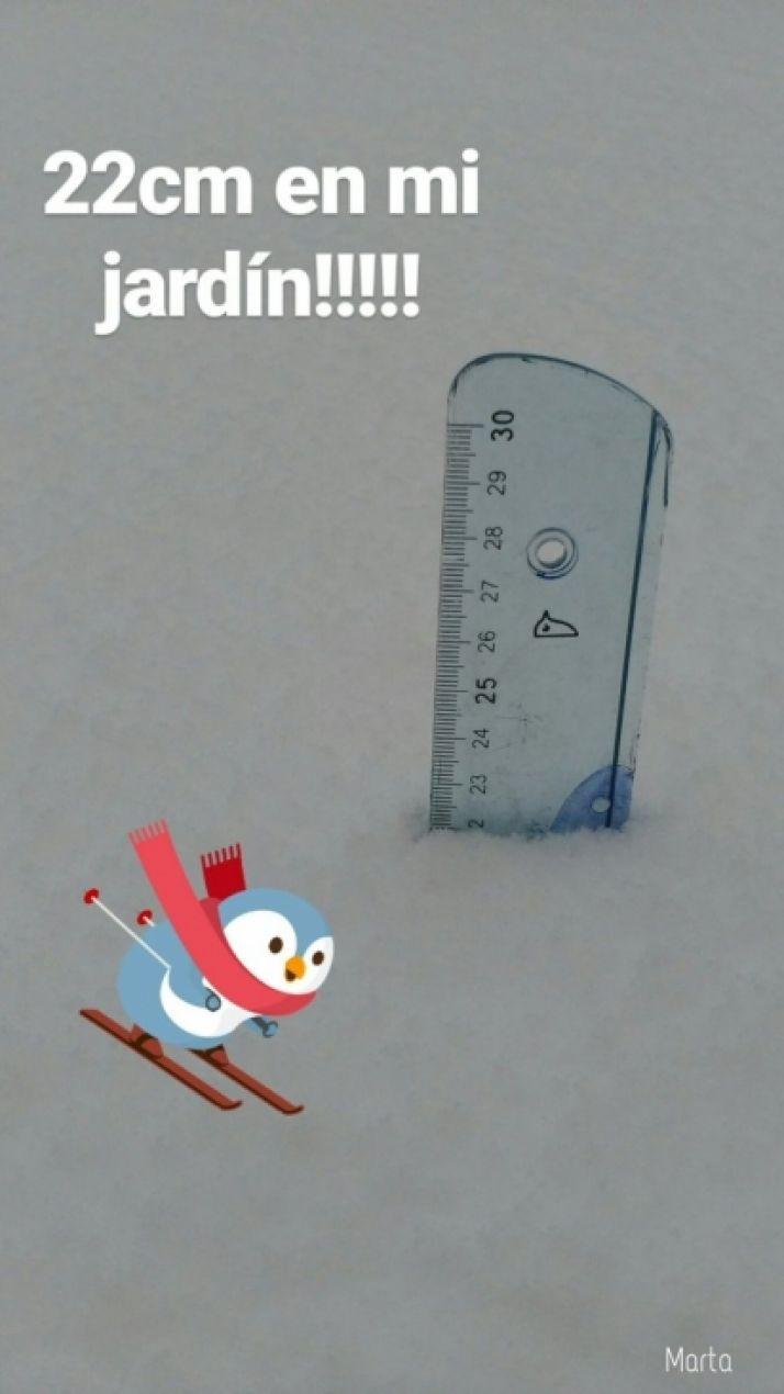 Domingo de nieves en Soria.