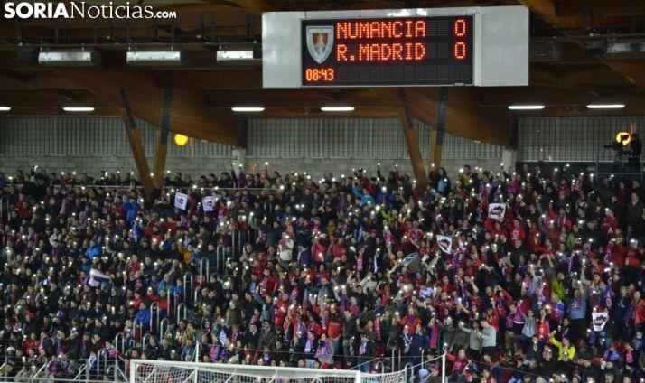 Foto 1 - Más de 2 millones de personas siguieron al Numancia por televisión