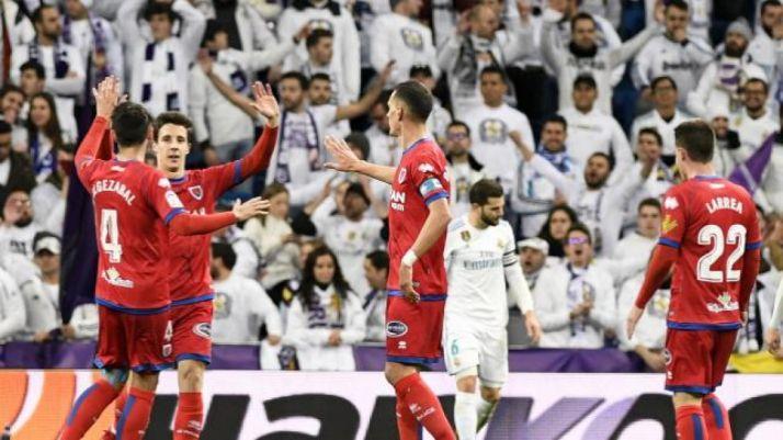 Empate de Guillermo (1-1) en el Santiago Bernabéu. LaLiga