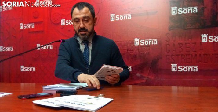 Javier Muñoz, concejal de Hacienda en el Ayuntamiento capitalino. /SN