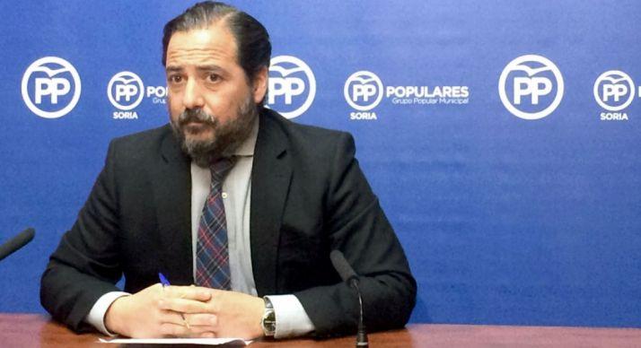 José Manuel Hernando, concejal del PP en el Ayuntamiento de Soria.