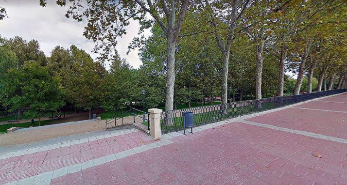El parque donde se denunciaron los hechos./GM