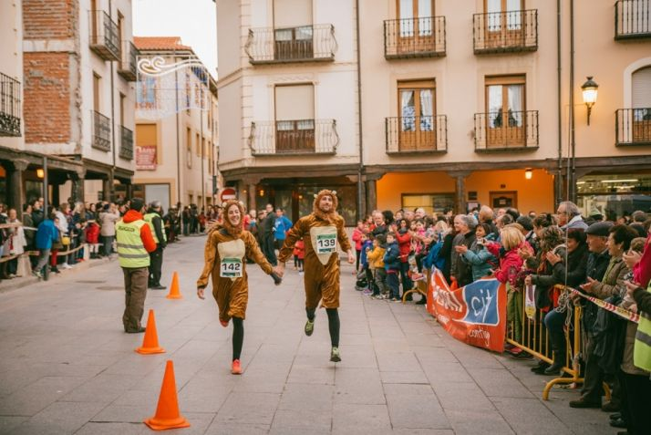 Carrera de Navidad de San Esteban de Gormaz.